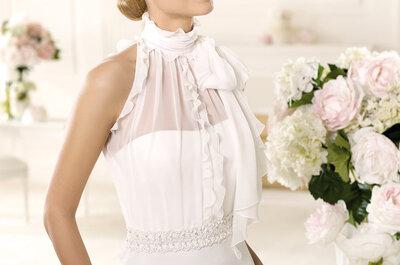 Vestidos de novia con lazo para las novias de 2013