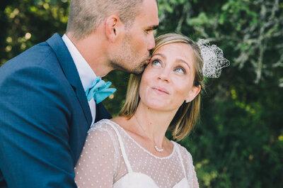 Julie et Sebastien : un mariage à la décoration champêtre pleine de détails DIY canons !