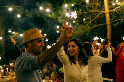 Naouel et Olivier : Une ambiance bucolique pour un incroyable mariage sous les étoiles