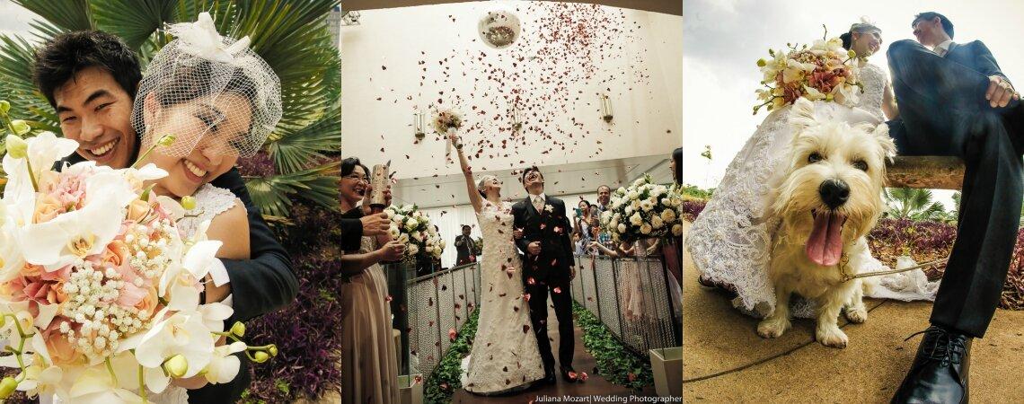 Carina & Adolfo: casamento emocionante de almas gêmeas em São Paulo