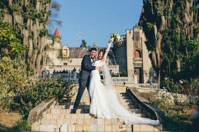 Laura y Nico: ¡Una boda como en los cuentos de hadas!