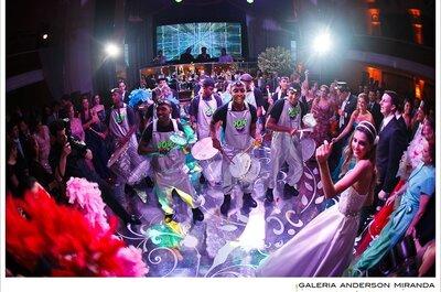 Música para casamento no Rio de Janeiro: alegria garantida da cerimônia até a pista!