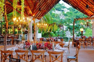 10 banquetes de bodas en Acapulco que le pondrán sabor a tu boda