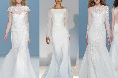 Tendencias 2015: Vestidos de novia de línea sirena