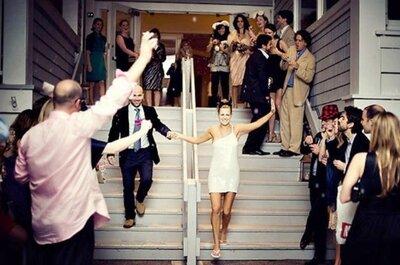 5 razones más para elegir un vestido de novia corto