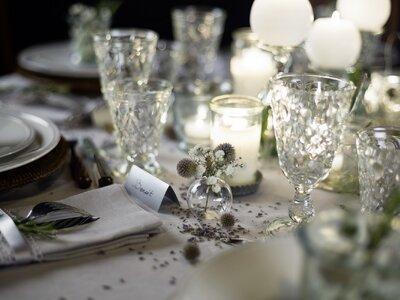 Art de la table : idées et inspirations pour votre table de mariage par Options