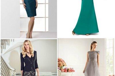 Gli abiti perfetti per le mamme degli sposi del 2013 secondo Zankyou