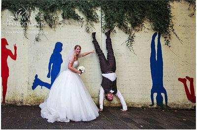 Las fotos de boda más divertidas y originales