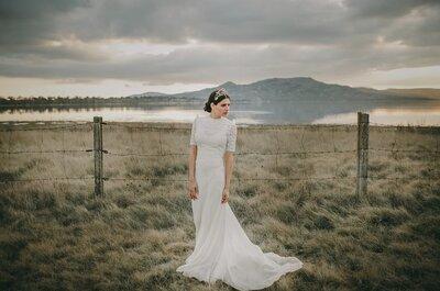 5 razones por las que llevar zapato plano el día de tu boda