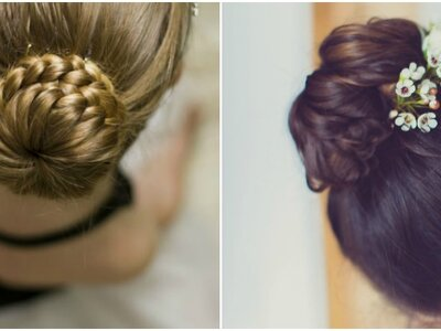 Discover the Italian Bun for the Most Elegant Wedding Guest Hairstyle!