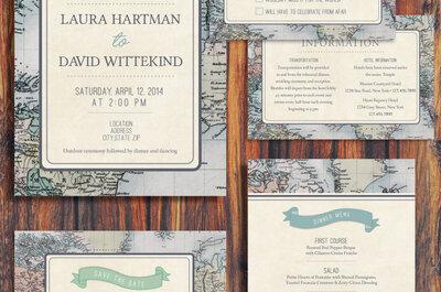 Una boda inspirada en los viajes: 9 detalles básicos que debes integrar en la decoración