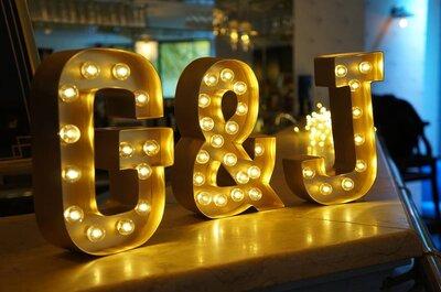 Les meilleures idées déco pour illuminer votre mariage en 2016