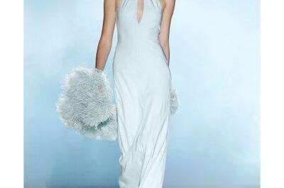 Vestidos en tonos pastel para las novias de 2013