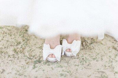 Finish jouw look en koop hier de mooiste bruidsschoenen!