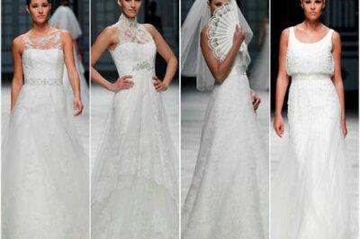 Los vestidos de novia más románticos para 2013