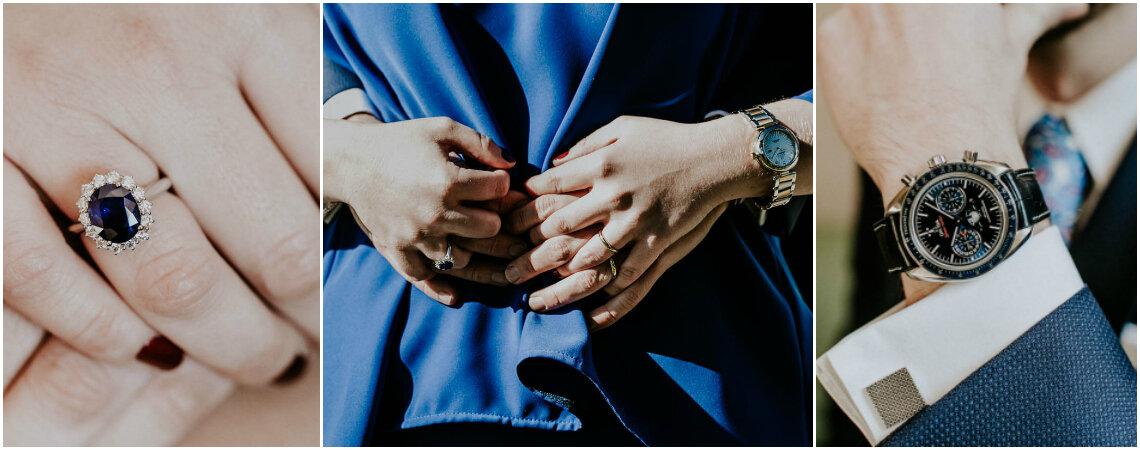 Azul Roial: editorial traz acessórios perfeitos para um casal em sintonia!