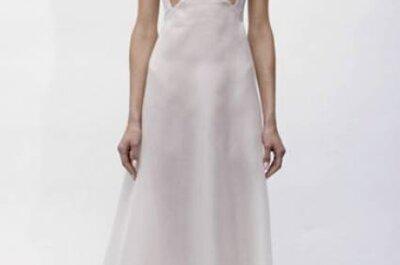 Vestido de noiva muito moderno: uma proposta Angel Sanchez