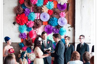 Inspiración para el Photo booth de tu boda