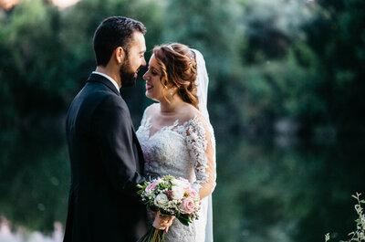 Yo te prometo contigo envejecer: la boda de Mónica y Salvador