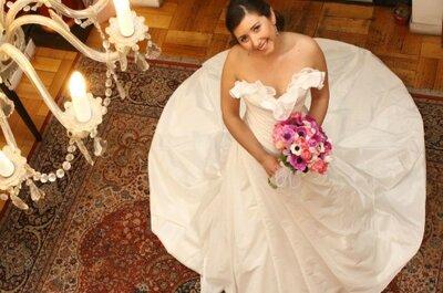 Vestidos románticos y elegantes para novias chilenas