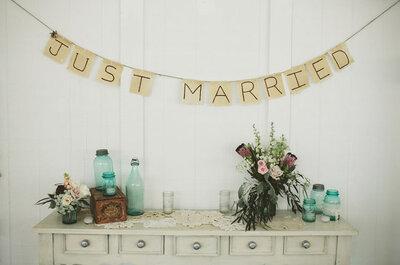 Ideas: Tendencias 2013 en decoración de bodas