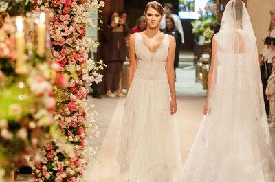 Bem Casados 2014: cobertura do desfile de vestidos de noivas, madrinhas, noivos e daminhas