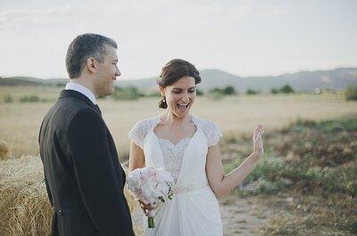 Fotos de boda en el campo: un entorno romántico para tus mejores recuerdos