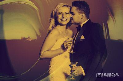 Wesele w hollywoodzkim stylu, czyli James Bond na ślubie Darii I Piotra.