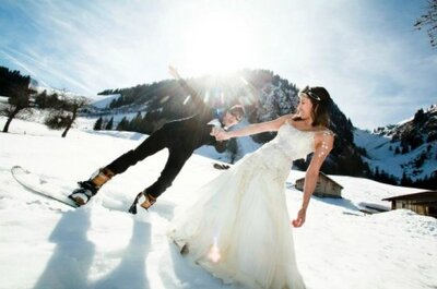 6 conseils pour être la parfaite mariée hivernale !