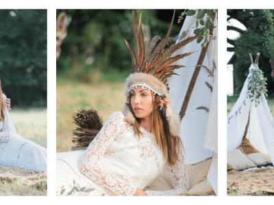 Die Hippie-Hochzeit - Inspirationen für freiheitsliebende und naturverbundene Brautpaare