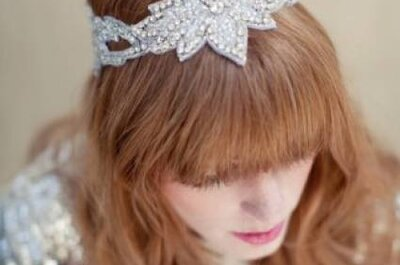 Frisuren für die Hochzeit: Mit Haarschmuck auf Ihrer Hochzeit glänzen