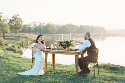 Свадьба на природе: вдохновение с JulyEvent и семьей Кошкиных