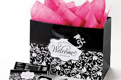 Bolsas y regalos DIY para los invitados de boda