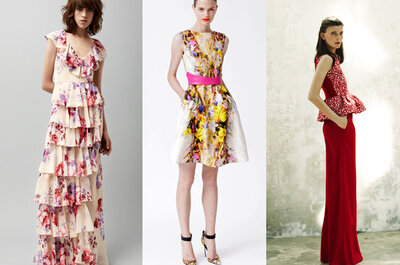 Tendências em vestidos para madrinhas e convidadas coleções Resort 2013