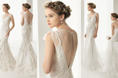 Reveal without a revolution: Backless wedding dress inspiration