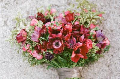 Decoración de boda en color rojo carmesí: Intensidad, glamour y un espíritu genial para tu gran día