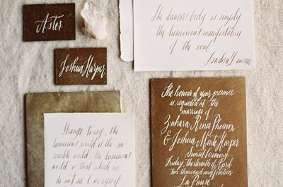Fall in love with these beautiful details for the perfect vintage wedding