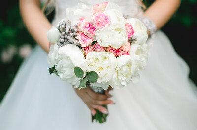 Пионы для букета невесты - самые романтические цветы