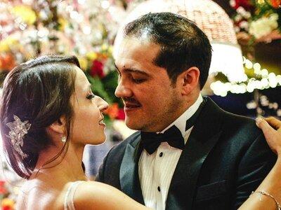 Fran y Alfonso, ¡música, flores, dulzor y amor!