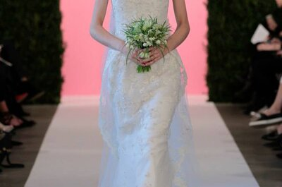 New York Bridal: la collezione primavera 2015 di Oscar De La Renta