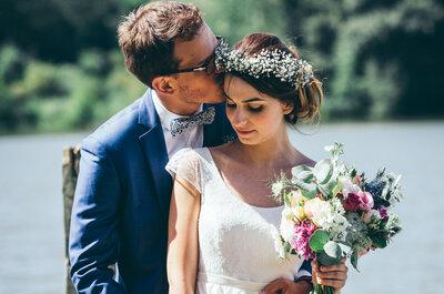 Le mariage bucolique dans un ancien corps de ferme de Camille + Thomas