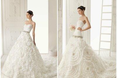 Aire Barcelona 2013: romance y elegancia en vestidos de novia