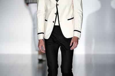 Tendências Milan Fashion Week 2015: O homem ousado