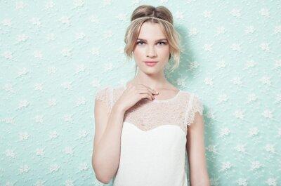 Robes de mariée Adeline Bauwin et bijoux de mariage Les dissonances : une top association