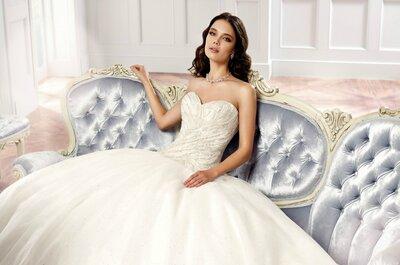 Encontre o vestido de noiva com que sempre sonhou na Vestidus