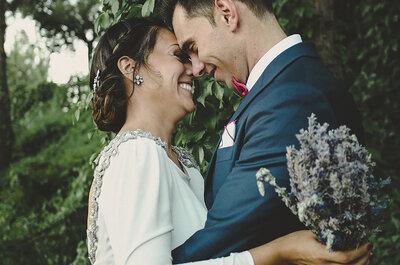 Anécdotas, risas y una historia de amor muy singular: la boda de Celia y Jesús