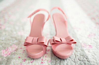 Odeia sapatos de noiva tradicionais?  Não desespere!