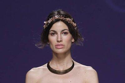 Os 10 penteados de noiva mais exóticos do Barcelona Bridal Week 2012