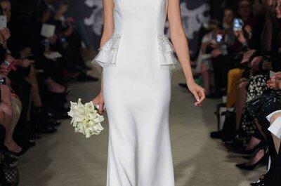 Sehen Sie hier die Brautmoden-Kollektion 2015 von Carolina Herrera auf derN ew York Bridal Week