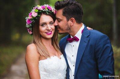 Świeża, piękna i w soczystych kolorach sesja ślubna na łonie natury! Zapraszamy!
